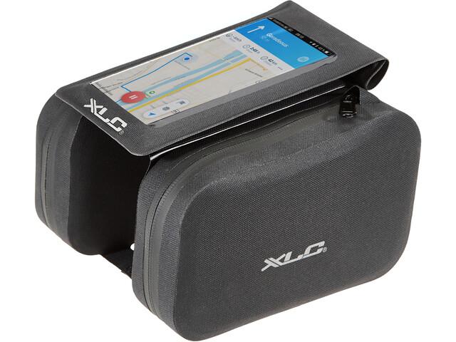 XLC Rahmentasche mit Telefonhalter black